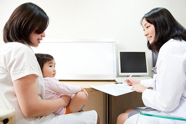 乳幼児健診は、育児相談ができるチャンス